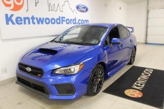 Used 2018 Subaru WRX 3 MONTH DEFERRAL! *oac | STI - 6 Sp Manual | Heated | Sunroof for sale in Edmonton, AB