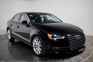 Used 2016 Audi A3 KOMFORT 1.8T CUIR TOIT for sale in St-Hubert, QC