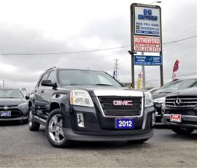 Used 2012 GMC Terrain SLT-1 LEATHER SUNROOF ALLOYS CLEAN CARFAX for sale in Brampton, ON