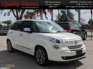 Used 2015 Fiat 500L Lounge for sale in Etobicoke, ON
