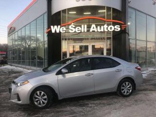 Used 2016 Toyota Corolla S 4dr FWD Sedan for sale in Winnipeg, MB