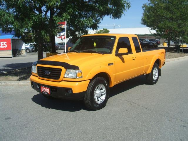 2008 Ford Ranger SPORT   4X4   5 SPEED MANUAL