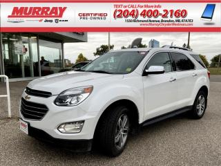 Used 2017 Chevrolet Equinox AWD Premier *Remote Start* *OnstarNAV* *HeatdSeats for sale in Brandon, MB