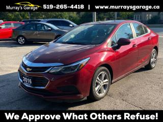 Used 2016 Chevrolet Cruze LT (Lot 2) for sale in Guelph, ON