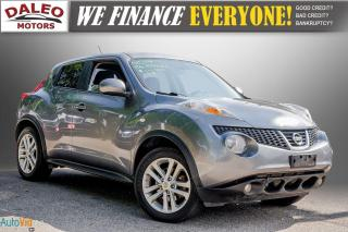 Used 2014 Nissan Juke SL / LEATHER / MOONROOF / NAVI / BACKUP CAM / for sale in Hamilton, ON