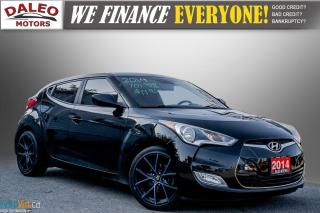Used 2014 Hyundai Veloster BACK-UP CAM / PDC / HEATED SEATS / BUCKET SEATS / for sale in Hamilton, ON