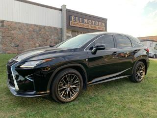 Used 2016 Lexus RX 350 F SPORT 2 NAVI REAR CAM BMS SUNROOF RED INTERIOR for sale in North York, ON