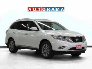 Used 2015 Nissan Pathfinder SL AWD Leather Backup Camera 7 Pass for sale in Toronto, ON