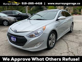 Used 2013 Hyundai Sonata Limited w/Technology Pkg Hybrid (lot 2) for sale in Guelph, ON