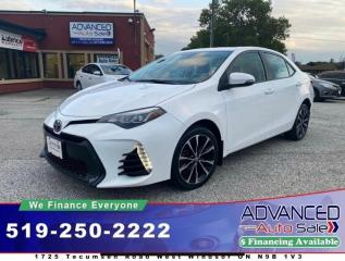 Used 2017 Toyota Corolla SE - SPORT for sale in Windsor, ON