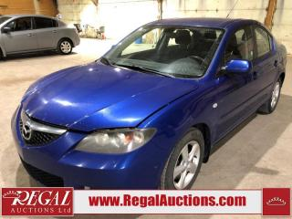 Used 2008 Mazda MAZDA3 4D Sedan for sale in Calgary, AB