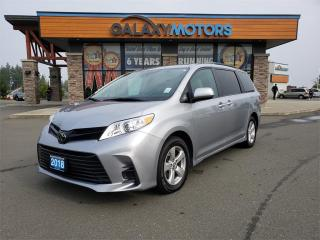 Used 2018 Toyota Sienna 3 Zone AC Bluetooth Front Collision Warning for sale in Courtenay, BC