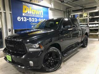 Used 2018 RAM 1500 Sport Premium Crew Cab 4X4 |Sunroof, Navi, LOADED! for sale in Nepean, ON