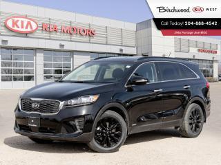 New 2020 Kia Sorento BLACK LINE V6 for sale in Winnipeg, MB