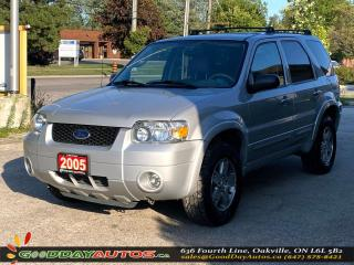 Used 2005 Ford Escape Limited|LOW KM|NO ACCIDENT|SUNROOF|AWD|CERTIFIED for sale in Oakville, ON