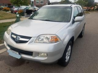 Used 2004 Acura MDX w/Tech Pkg,LEATHER, NAVIGATION, REARVIEW CAM SUNRO for sale in Mississauga, ON