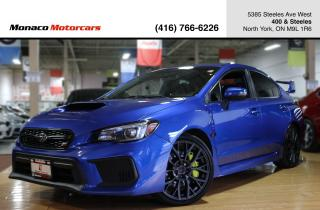 Used 2018 Subaru WRX STI SPORT - LEATHER|SUNROOF|BACKUP|BLINDSPOT for sale in North York, ON