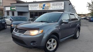 Used 2009 Mitsubishi Outlander LS  7 pass. + DVD for sale in Etobicoke, ON