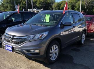 Used 2016 Honda CR-V EX for sale in Brockville, ON