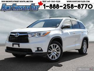 Used 2016 Toyota Highlander AWD 4DR XLE for sale in Milton, ON
