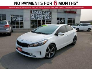 Used 2017 Kia Forte EX Luxury, Leather, Sunroof, Memory Seat, Android for sale in Niagara Falls, ON