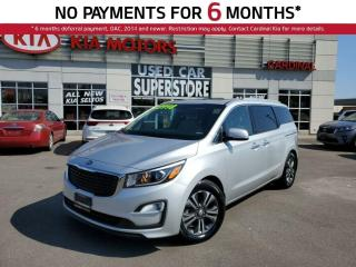 Used 2019 Kia Sedona SX, Sunroof, Memory Seat. for sale in Niagara Falls, ON