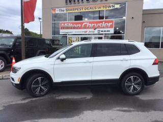 Used 2018 Volkswagen Tiguan HIGHLINE 4MOTION|LEATHER|NAVIGATION|PANORAMIC SUNR for sale in Milton, ON