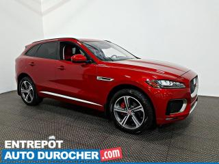 Used 2017 Jaguar F-PACE S AWD NAVIGATION - Toit Ouvrant - A/C - Cuir for sale in Laval, QC