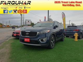 Used 2017 Kia Sorento EX V6 - Leather Seats - $157 B/W for sale in North Bay, ON