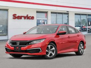 New 2020 Honda Civic Sedan LX CVT for sale in Brandon, MB