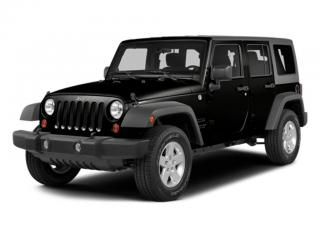 Used 2014 Jeep Wrangler UNLIMITED 4WD 4DR SAHARA for sale in Mississauga, ON