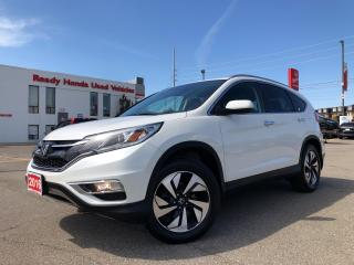 Used 2016 Honda CR-V Touring -  Navi - Leather - Sunroof - Rear Camera for sale in Mississauga, ON