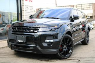 Used 2013 Land Rover Evoque Dynamic Premium, Red Int, 20'Rims, Navi, Cam, PanoRoof, PDC, for sale in North York, ON