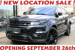 Used 2013 Land Rover Evoque SOLD SOLD SOLD,Dynamic Premium, Red Int, 20'Rims, Navi, Cam, for sale in North York, ON