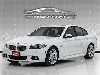 Used 2016 BMW 5 Series 528i xDrive, M Sport, HUD,360 Cam, Collision Warnning for sale in Concord, ON