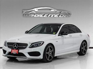 Used 2017 Mercedes-Benz C-Class C43 AMG 4M, Red Int, Navi, Cam, PanoRoof, Burmester Sound, for sale in Concord, ON