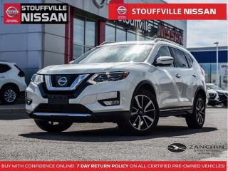 Used 2017 Nissan Rogue SL Platinum  Almond Leather  Navi  Pano Roof  Bose for sale in Stouffville, ON