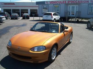 Used 2000 Mazda Miata MX-5 Base for sale in St-Jean-Sur-Le-Richelieu, QC