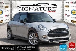 Used 2016 MINI Cooper Hardtop 5dr HB S. LOW KMS. HEATED SEATS. POWER MIRRORS. for sale in Mississauga, ON