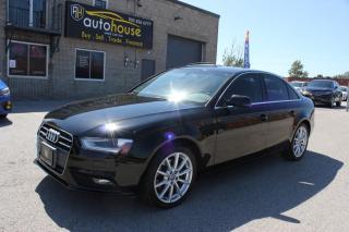 Used 2014 Audi A4 Progressiv PLUS ,quattro ,NAVIGATION ,PUSH STARTER ,NEW TIRE for sale in Newmarket, ON