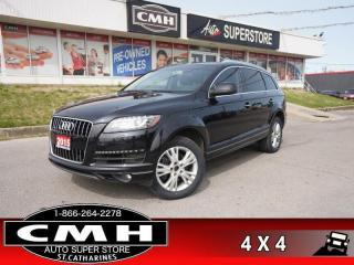 Used 2015 Audi Q7 3.0 quattro TDI Progressiv  NAV BT ROOF HTD-SEATS for sale in St. Catharines, ON