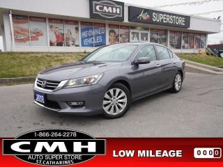 Used 2013 Honda Accord Sedan EX-L  ROOF LEATH BT CAM HTD-P/SEATS for sale in St. Catharines, ON