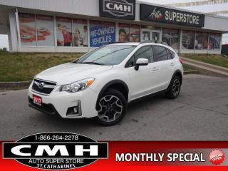 Used 2017 Subaru XV Crosstrek Touring  CAM BLUETOOTH HTD-SEATS 17 -AL for sale in St. Catharines, ON