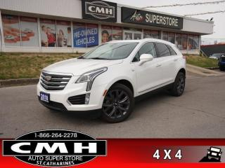 Used 2018 Cadillac XT5 Luxury AWD  AWD CAM NAV PANO HTD-SW for sale in St. Catharines, ON