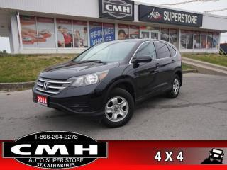 Used 2014 Honda CR-V LX  AWD CAM HTD-SEATS BT PARK-SENS for sale in St. Catharines, ON