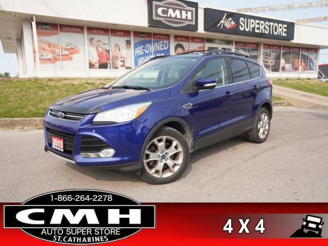 2013 Ford Escape SEL  AWD LEATH ROOF NAV HTD-SEATS CAM