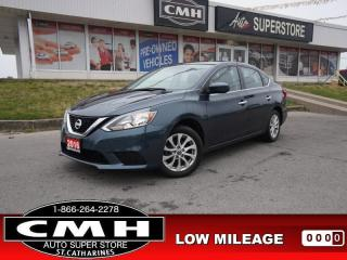 Used 2016 Nissan Sentra SV  SUNROOF HTD-SEATS CAM BT for sale in St. Catharines, ON