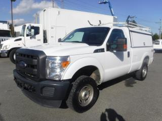 Used 2015 Ford F-250 SD XL 4WD with Canopy and Ladder Rack for sale in Burnaby, BC