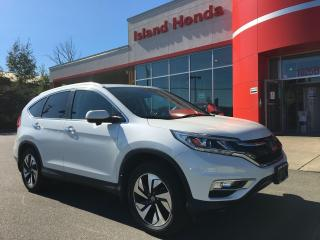 Used 2016 Honda CR-V Touring for sale in Courtenay, BC