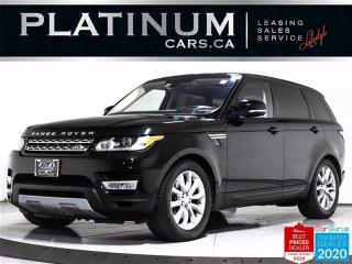 Used 2016 Land Rover Range Rover Sport HSE, AWD, 7 PASS, NAV, PANO, 360, VENTILATED for sale in Toronto, ON